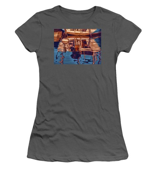 Abstract Reflections Women's T-Shirt (Athletic Fit)