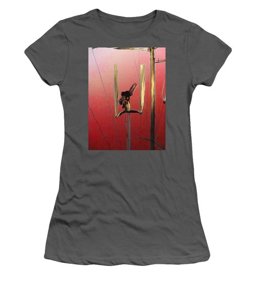 Acrobatic Aerial Artistry1 Women's T-Shirt (Athletic Fit)