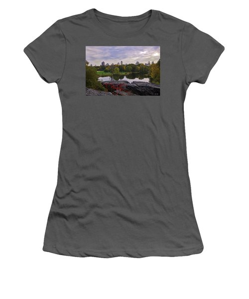 Across The Pond 2 - Central Park - Nyc Women's T-Shirt (Athletic Fit)