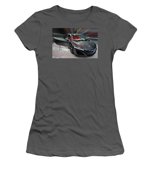 Acura Nsx Concept 2013 Women's T-Shirt (Athletic Fit)