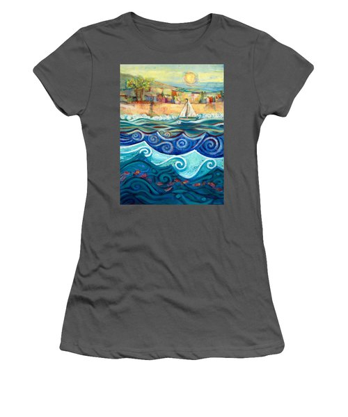 Afternoon Sail Women's T-Shirt (Athletic Fit)