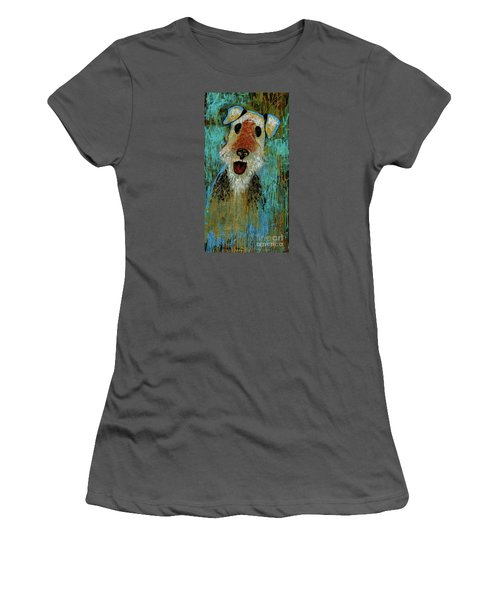 Airedale Terrier Women's T-Shirt (Athletic Fit)