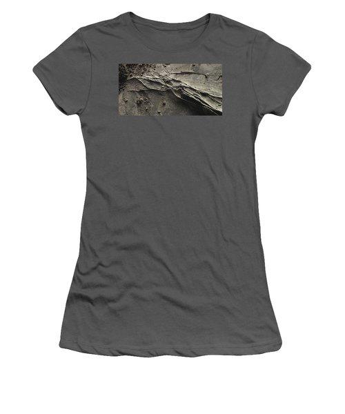 Alien Lines Women's T-Shirt (Junior Cut) by David Hansen