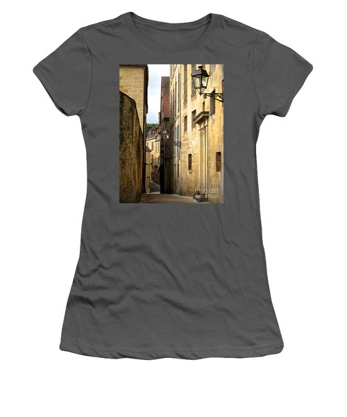 Alleys Of Sarlat Women's T-Shirt (Athletic Fit)