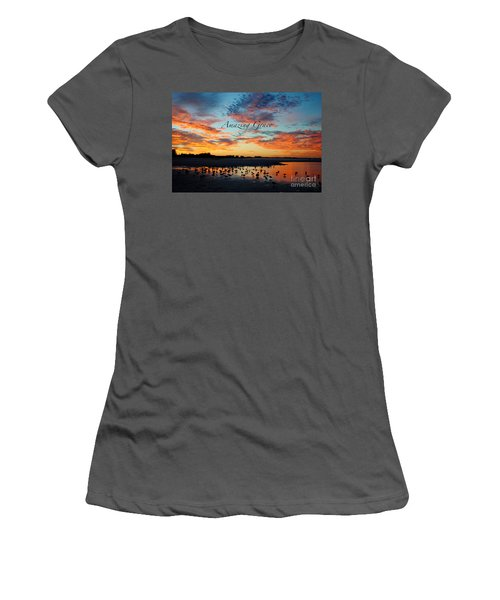 Amazing Grace On Siesta Key Women's T-Shirt (Athletic Fit)