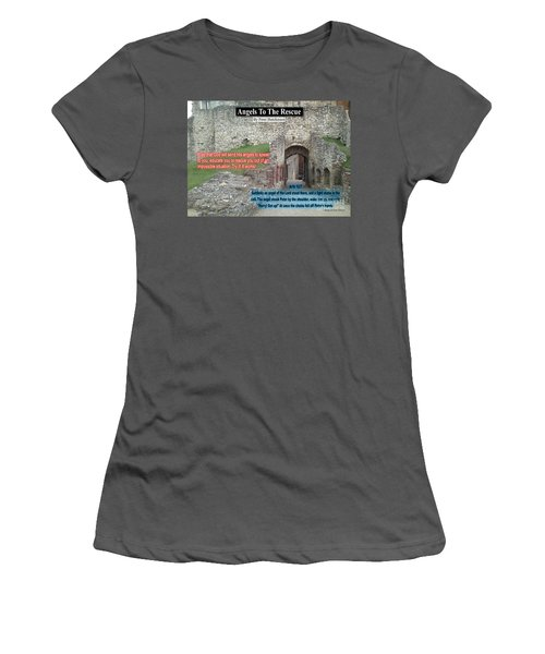 Angels To The Rescue Women's T-Shirt (Athletic Fit)