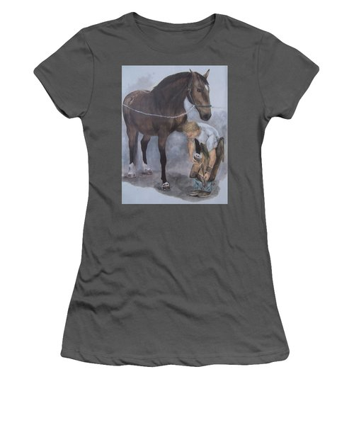 Another Day At The Office Women's T-Shirt (Athletic Fit)