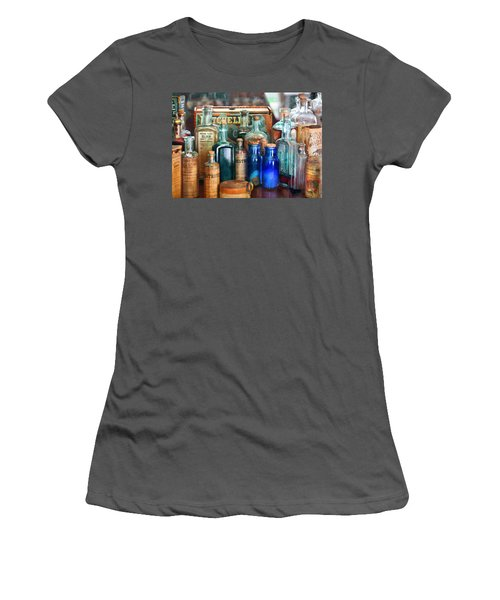 Apothecary - Remedies For The Fits Women's T-Shirt (Athletic Fit)