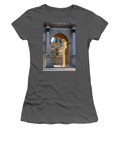 Arc De Triomphe Du Carrousel Women's T-Shirt (Athletic Fit)