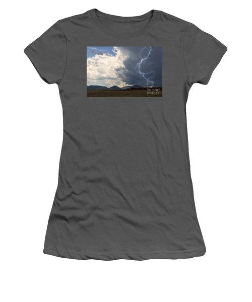 Arizona Desert Lightning  Women's T-Shirt (Athletic Fit)