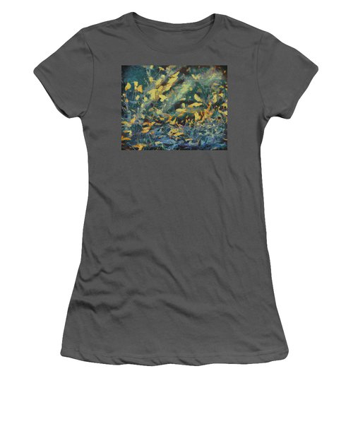 Women's T-Shirt (Junior Cut) featuring the painting As The Wind Blows by Joe Misrasi