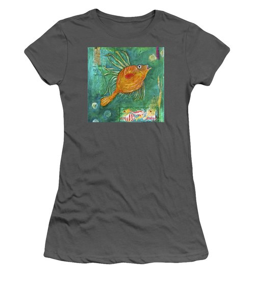 Asian Fish Women's T-Shirt (Athletic Fit)