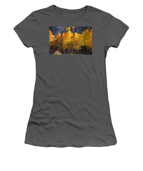 Aspen Gold Women's T-Shirt (Junior Cut) by Lynn Bauer