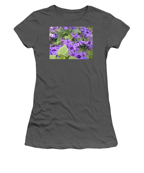 Asters Women's T-Shirt (Athletic Fit)