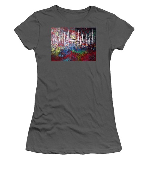 At The Top Women's T-Shirt (Junior Cut) by George Riney
