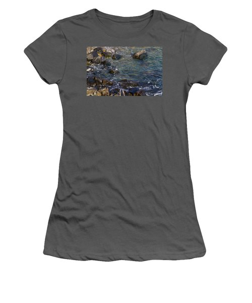 Atlantic Ocean Maine Women's T-Shirt (Athletic Fit)