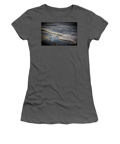 Attack Of The Sea Foam Women's T-Shirt (Athletic Fit)
