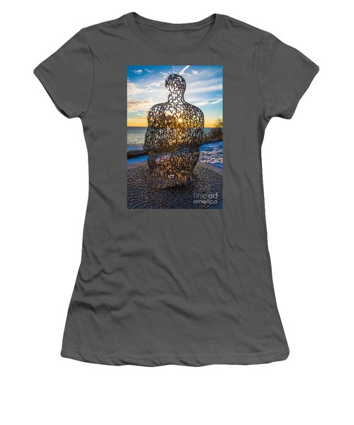Atwater Spillover Sunrise Women's T-Shirt (Athletic Fit)