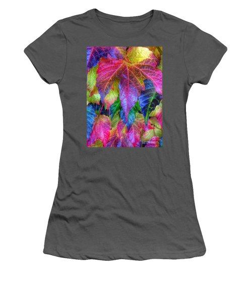 Autumn Bold Women's T-Shirt (Athletic Fit)