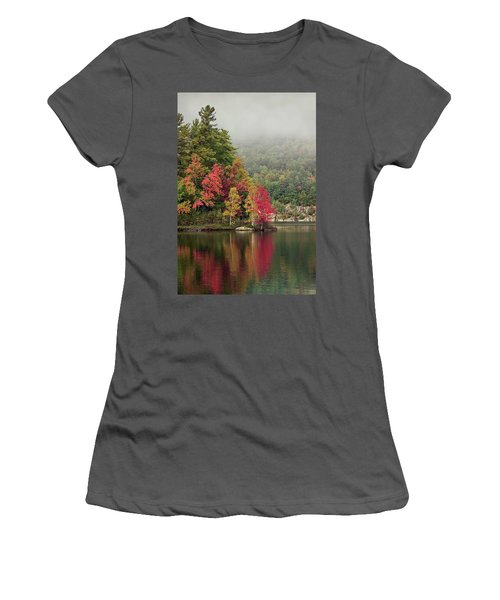 Autumn Breath Women's T-Shirt (Athletic Fit)