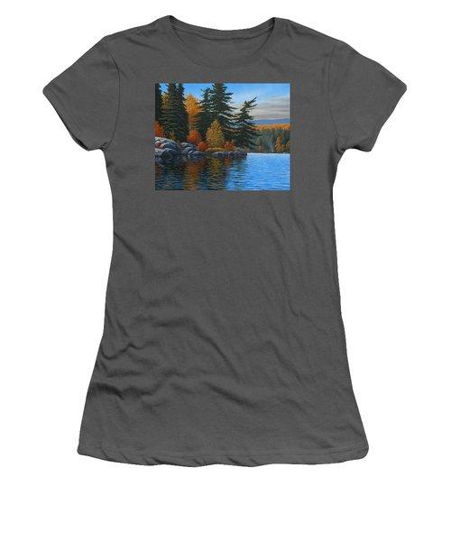 Autumn Breeze Women's T-Shirt (Athletic Fit)
