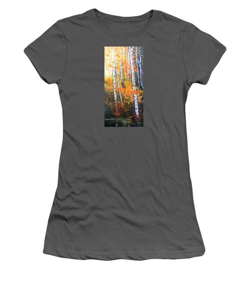 Autumn Glow Women's T-Shirt (Junior Cut) by Patti Gordon