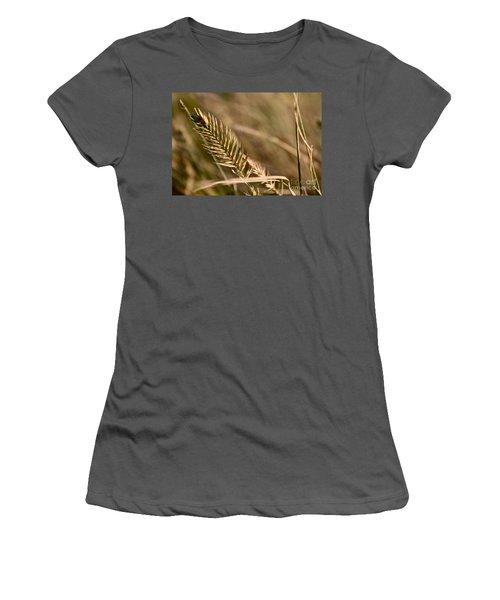 Autumn Grasses Women's T-Shirt (Athletic Fit)