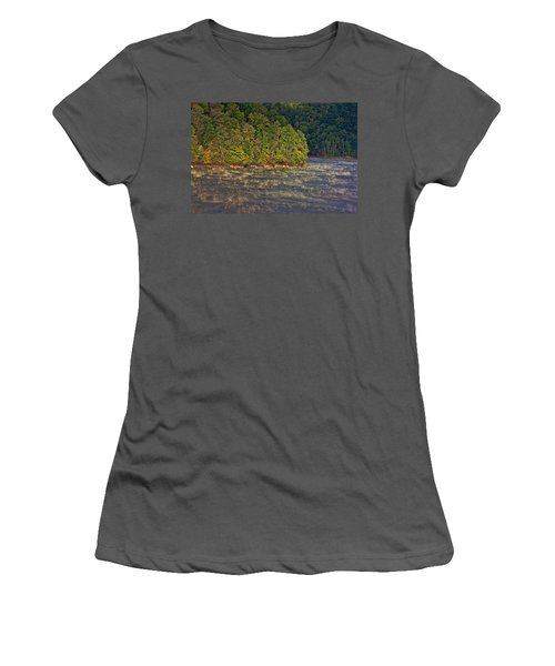Autumn Mist Women's T-Shirt (Athletic Fit)