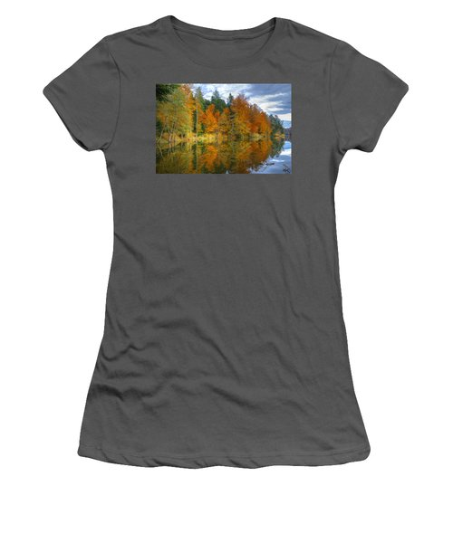 Autumn Reflection Women's T-Shirt (Athletic Fit)