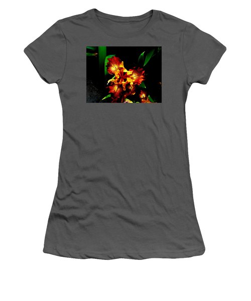 Awesome Iris Women's T-Shirt (Athletic Fit)