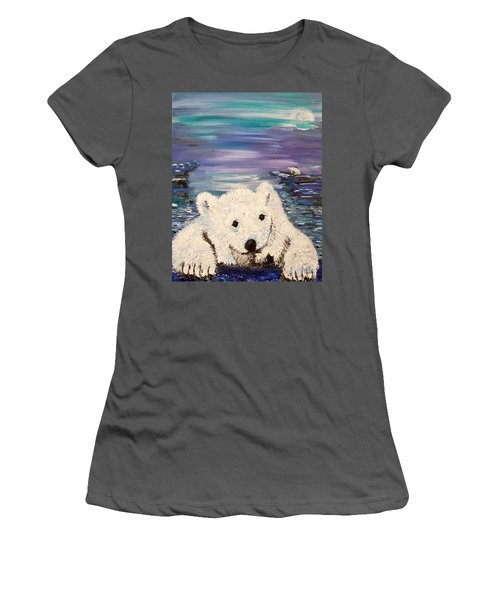 Baby Bear Women's T-Shirt (Athletic Fit)