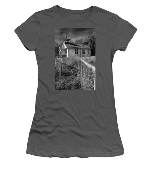 Women's T-Shirt (Junior Cut) featuring the photograph Back To School by Brian Duram
