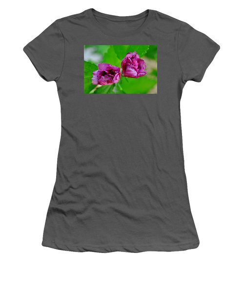 Back Yard Weed Women's T-Shirt (Athletic Fit)