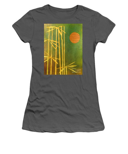 Bamboo Moon Women's T-Shirt (Athletic Fit)