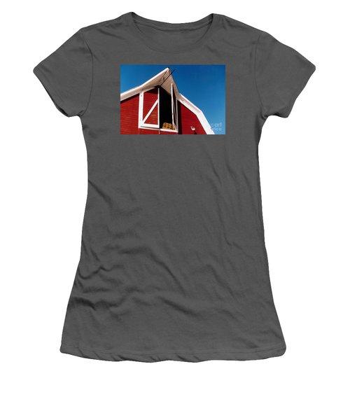 Barn Women's T-Shirt (Athletic Fit)