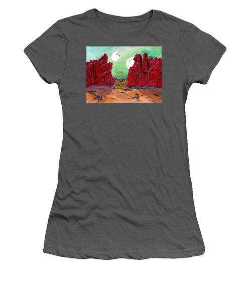 Barsoom Women's T-Shirt (Athletic Fit)