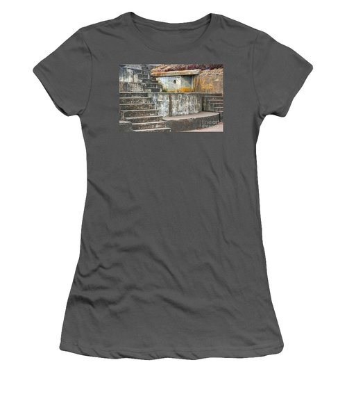 Women's T-Shirt (Junior Cut) featuring the photograph Battery Chamberlin by Kate Brown