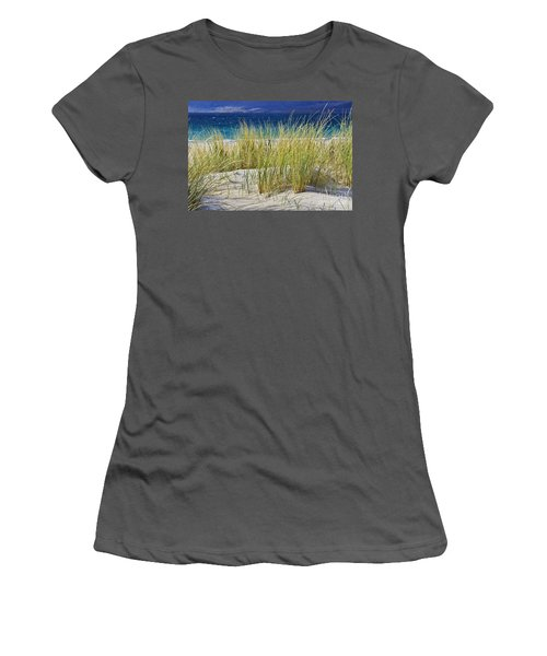 Beach Gras Women's T-Shirt (Athletic Fit)