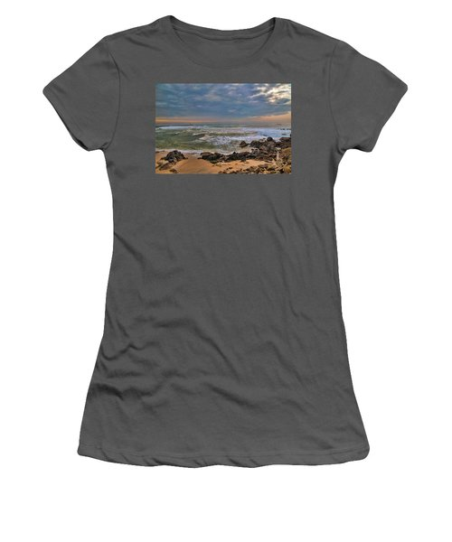 Beach Landscape Women's T-Shirt (Athletic Fit)