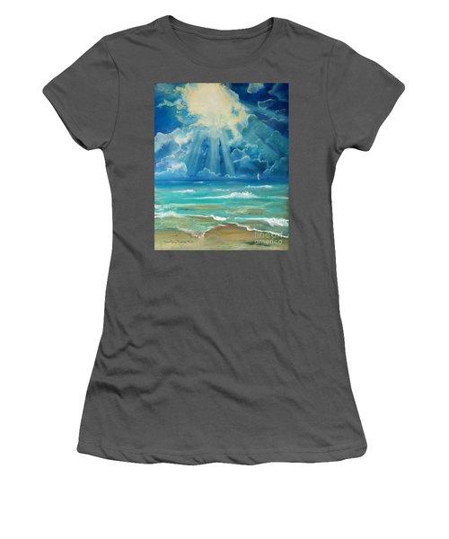 Beach Women's T-Shirt (Athletic Fit)