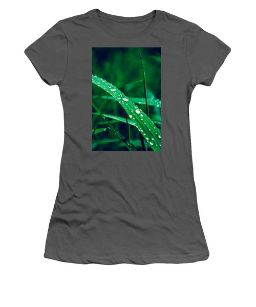 Beading Up Women's T-Shirt (Athletic Fit)