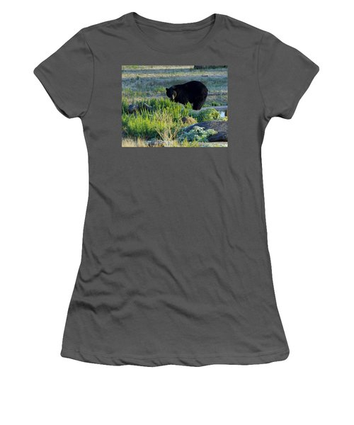 Bear 3 Women's T-Shirt (Athletic Fit)