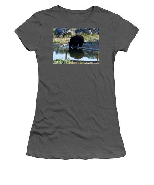 Bear 4 Women's T-Shirt (Athletic Fit)