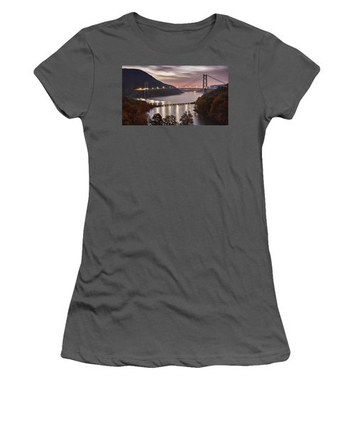 Bear Mountain In The Fall Women's T-Shirt (Athletic Fit)