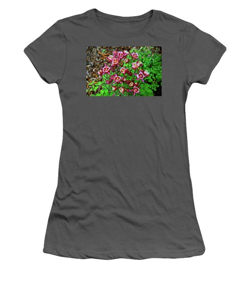 Beautiful Columbine   Women's T-Shirt (Athletic Fit)