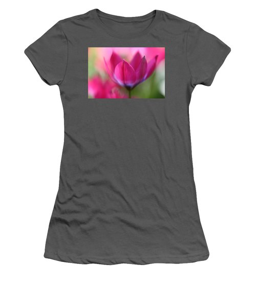 Beautiful Pink Women's T-Shirt (Athletic Fit)