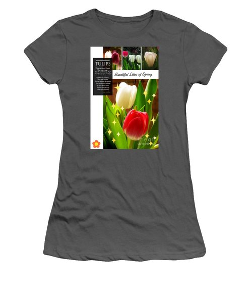 Beautiful Tulip Series 1 Women's T-Shirt (Athletic Fit)