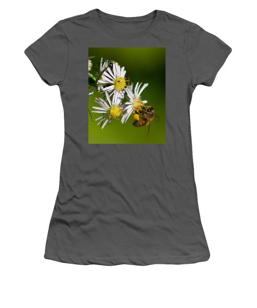 Bee Harvest Women's T-Shirt (Athletic Fit)