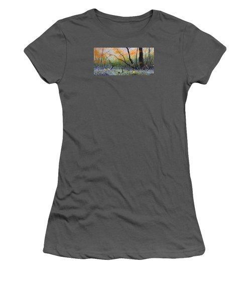 Belleza Por Cenizas Women's T-Shirt (Junior Cut) by Angel Ortiz