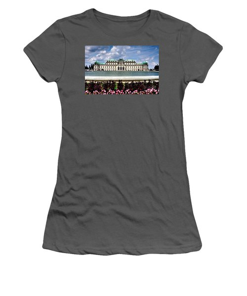 Women's T-Shirt (Junior Cut) featuring the photograph Belvedere Palace by Joe  Ng